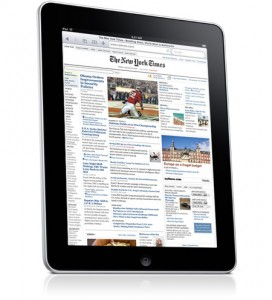 NYTimes created an iPad app that takes advantage of the new platform.